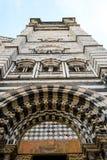 Genoa, catedral imagem de stock royalty free