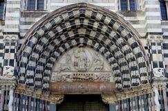 Genoa Cathedral royalty-vrije stock foto