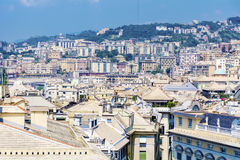 Genoa city , panorama Stock Image