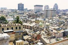 Genoa city , panorama Stock Photos