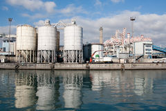 Free Genoa Commercial Dock Royalty Free Stock Image - 23911076