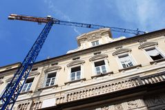 Genoa Construction Royalty Free Stock Photography