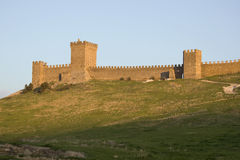 The Genoa fortress in the Crimea Royalty Free Stock Images