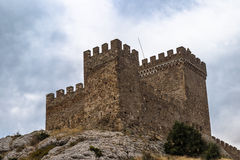 The Genoa fortress Royalty Free Stock Image