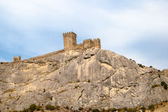 The Genoa fortress Stock Photography