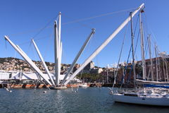 Genoa harbour, Italy Royalty Free Stock Image
