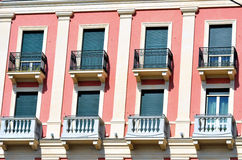 Genoa houses Stock Photography