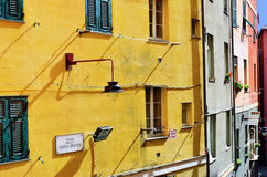 Genoa houses Royalty Free Stock Image