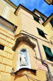 Genoa houses Stock Photos