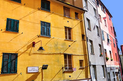 Genoa houses Royalty Free Stock Photos