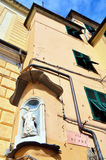 Genoa houses Stock Image