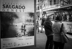 Genoa, Itália - 21 de abril de 2016: Photograp brasileiro famoso do curso imagens de stock
