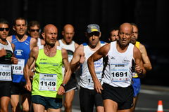 GENOA, ITALY - APRIL, 24 2016 - Annual non competitive marathon Royalty Free Stock Images