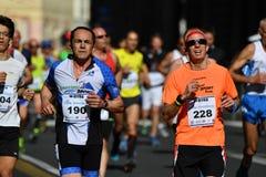 GENOA, ITALY - APRIL, 24 2016 - Annual non competitive marathon Stock Photo