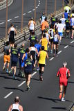 GENOA, ITALY - APRIL, 24 2016 - Annual non competitive marathon Royalty Free Stock Image
