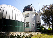 Genoa, Italy - Astronomic observatory on the Righi hill Royalty Free Stock Images