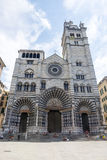 Genoa (italy), cathedral Royalty Free Stock Photography
