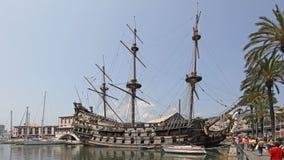 Galleon Ship stock image