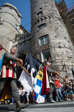 GENOA, ITALY - 8 JUNE 2014 - Unidentified people during the hist Stock Images