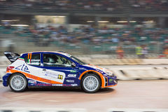 GENOA - ITALY - 5 MAY 2015 - The lanterna indoor rally competition Stock Photo