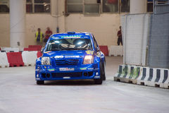 GENOA - ITALY - 5 MAY 2015 - The lanterna indoor rally competition Royalty Free Stock Photography