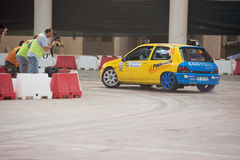 GENOA - ITALY - 5 MAY 2015 - The lanterna indoor rally competition Stock Photography
