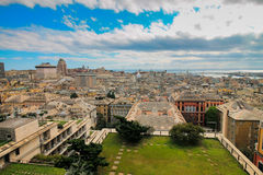 Genoa Italy old old town cityscape. Royalty Free Stock Photo