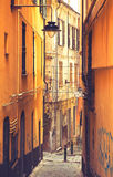 Genoa, Italy - old town Royalty Free Stock Photos
