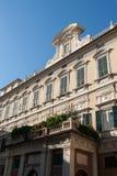 Genoa, Jerome grimaldi palace or mansion of the sundial Stock Photo