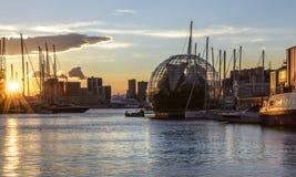 Genoa, liguria, italy, europe, the old port Stock Photos