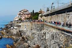 Genoa Nervi, Italy Royalty Free Stock Image