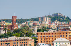 Genoa. Old quarters. Stock Images