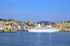 Genoa port Stock Images