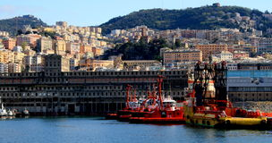 GENOA PORT Stock Photography