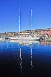 Genoa\'s harbour Royalty Free Stock Photography
