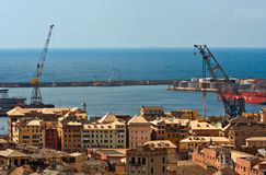 Genoa's landscape Stock Photography