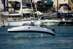 Genoa: 57th mostra do barco Foto de Stock Royalty Free