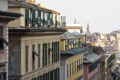 Genoa view Royalty Free Stock Image