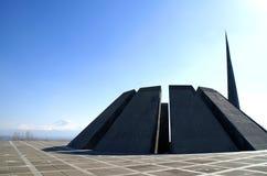 Genocide memorial. 1915 armenian genocide memorial in yerevan Stock Photo