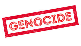 Genocide rubber stamp Stock Photography