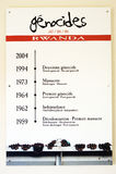 Genocidi in Ruanda Immagini Stock Libere da Diritti