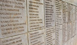 Genocidio ruandese Fotografie Stock Libere da Diritti