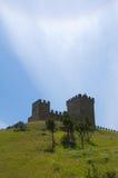 genoese μεσαιωνικό φρούριο Στοκ Εικόνες