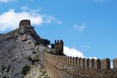крепость genoese Стоковая Фотография
