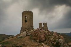 genoese fästning för slottconsulfortifiaction Fotografering för Bildbyråer