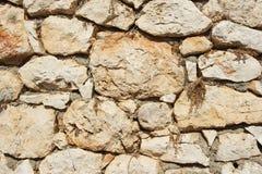 Genoese fästningväggfragment arkivfoton