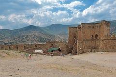 Genoese Festung Stockfotos