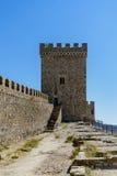 Genoese Festung Lizenzfreies Stockfoto
