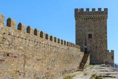 Genoese Festung Stockbilder