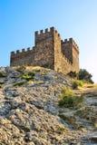Genoese Festung. Konsulschloß. Fortifiaction. Stockfoto